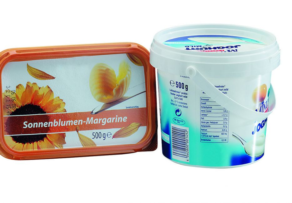 Margarineverpackung